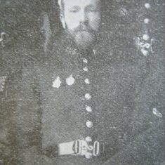 Police Constable 165 Alfred Luce Thomas. (Gloucestershire Police Archives URN 8702)