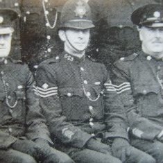 Police Sergeant 23 Wilfred Tibbles. (Gloucestershire Police Archives URN 8703)