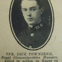 Police Constable 73 Dick Townsend. (Gloucestershire Police Archives URN 8705)