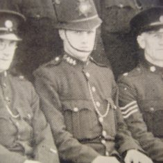 Police Constable 424 Tucker. (Gloucestershire Police Archives URN 8708)