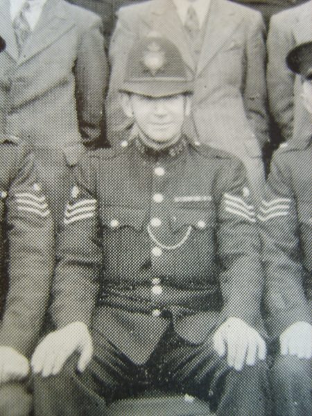 Police Sergeant John Vickers. (Gloucestershire Police Archives URN 8709)