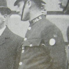 Police Constable 243 Charley Walker. (Gloucestershire Police Archives URN 8712)