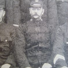 Superintendent Webb in Cirencester 1907. (Gloucestershire Police Archives URN 8714)