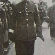 Police Sergeant 250 Charles Arthur Welchman. (Gloucestershire Police Archives URN 8716)