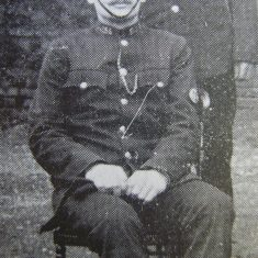 Police Constable 155 Thomas Wigmore. (Gloucestershire Police Archives URN 8720)