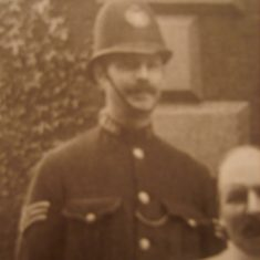 Police Sergeant George Wilks. (Gloucestershire Police Archives URN 8721)