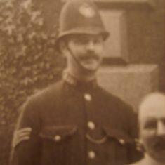 Police Sergeant George Wilks. (Gloucestershire Police Archives URN 8721)