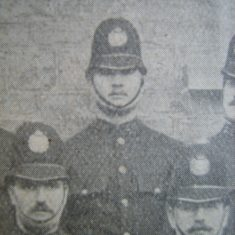 Police Constable 241 Francis Wood of Fairford 1907. (Gloucestershire Police Archives URN 8725)
