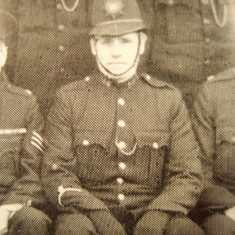Police Constable William Workman. (Gloucestershire Police Archives URN 8726)