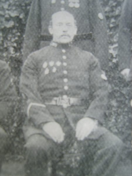Acting Sergeant William Yeates 1904. (Gloucestershire Police Archives URN 8728)