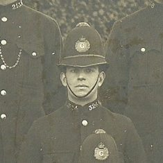 Police Constable 324. (Gloucestershire Police Archives URN 8733)