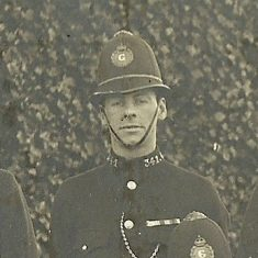 Police Constable 341. (Gloucestershire Police Archives URN 8735)