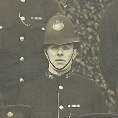 Police Constable 390. (Gloucestershire Police Archives URN 8738)