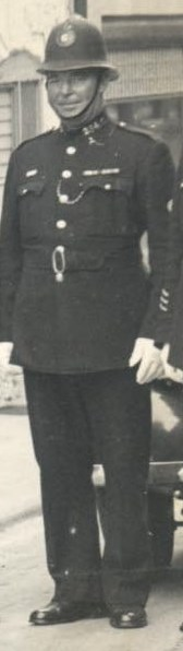 Police Sergeant 354 John Meadows awarded Silver Braid as a constable for stopping a runaway horse on 22nd December 1928 also awarded £3:10. (Gloucestershire Police Archives URN 8752)