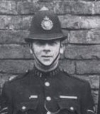 Police Sergeant 141 Francis Midwinter was awarded the Silver Braid as a constable for stopping a runaway horse on 4th May 1920. (Gloucestershire Police Archives URN 8758)