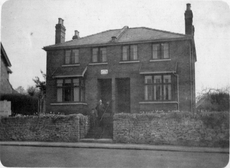 Police House in Prestbury. (Gloucestershire Police Archives URN 8762)