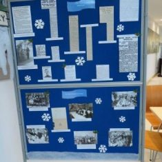 Winter and Christmas display  in The Street December 2018. (Gloucestershire Police Archives 8896)
