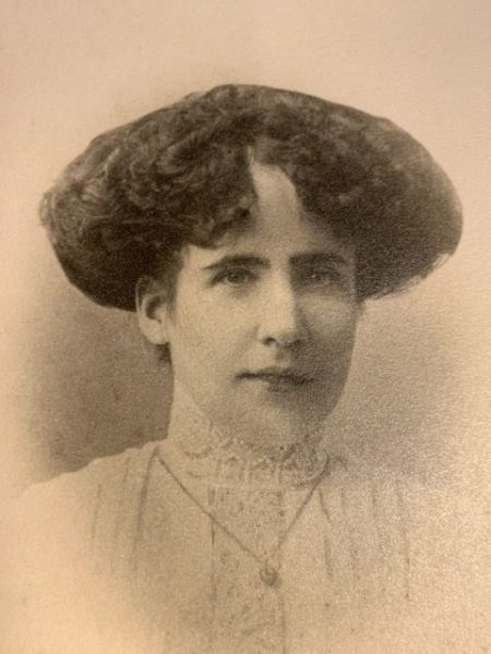 Louisa Preece around the time she and Ted  were married. (Gloucestershire Police Archives URN 9017-1)   From Geoff North
