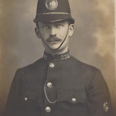 Charles Coldicott served 1919-34 Warrant number 3828 Collar number 232. (Gloucestershire Police Archives URN 8950) | Donated by Geoff North