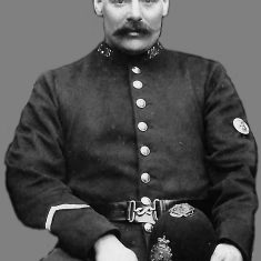 Police Constable 181 Brotherton. (Gloucestershire Police Archives URN 9217)