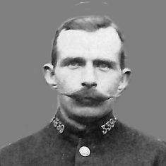 Police Constable 339 Henry Thomas Wiggins. (Gloucestershire Police Archives URN 9219)
