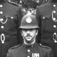 Police Constable 371 John V Parsons. (Gloucestershire Police Archives URN 9286)
