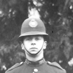 Police Constable 197 Harry A Pitts. (Gloucestershire Police Archives URN 9288)