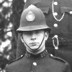 Police Constable 227 Victor A E Smith. (Gloucestershire Police Archives URN 9289)
