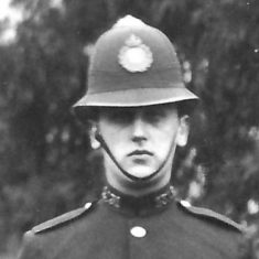 Police Constable 131 Clifford F Park. (Gloucestershire Police Archives URN 9290)