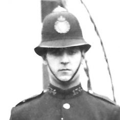 Police Constable 134 Cuthbert A Smith. (Gloucestershire Police Archives URN 9291)
