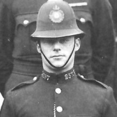 Police Constable 257 Alfred E R Trinder. (Gloucestershire Police Archives URN 9293)