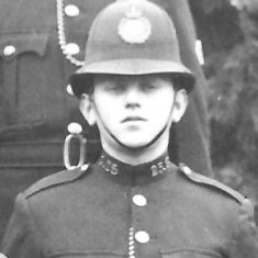 Police Constable 25 Gilbert Jackson. (Gloucestershire Police Archives URN 9294)