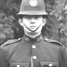 Police Constable Cecil J Taylor. (Gloucestershire Police Archives URN 9295)