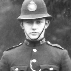 Police Constable 295 William H Westcott. (Gloucestershire Police Archives URN 9296)
