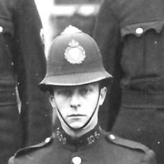 Police Constable 106 Francis G Hopkins. (Gloucestershire Police Archives URN 9297)