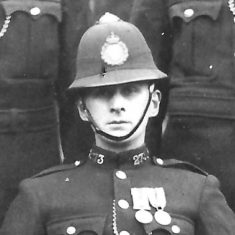 Police Constable 273 Charles P A Truss. (Gloucestershire Police Archives URN 9300)