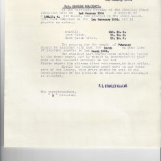 Pension agreed for Charles Coldicott by the Standing Joint Committee. (Gloucestershire Police Archives URN 9310)