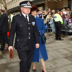 The Chief Constable and Mrs Brain in the Promenade. (Gloucestershire Police Archives URN 9772)