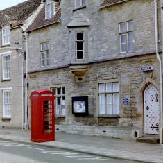 Fairford Police Station. (Gloucestershire Police Archives URN 9788)
