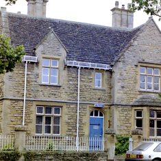 Moreton in Marsh Police Station. (Gloucestershire Police Archives URN 9796)