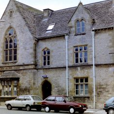 Stow on the Wold Police Station. (Gloucestershire Police Archives URN 9803)
