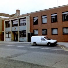 Tewkesbury Police Station. (Gloucestershire Police Archives URN 9806)