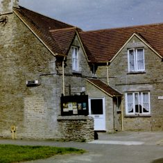 South Cerney Police Station. (Gloucestershire Police Archives URN 9812)