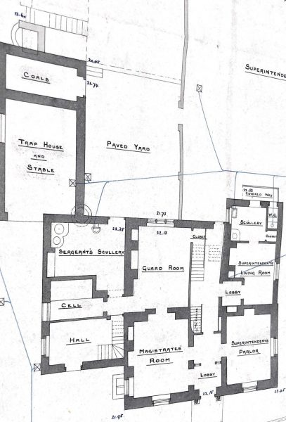Ground floor including yard for horse (Gloucestershire Police Archives URN 10009)