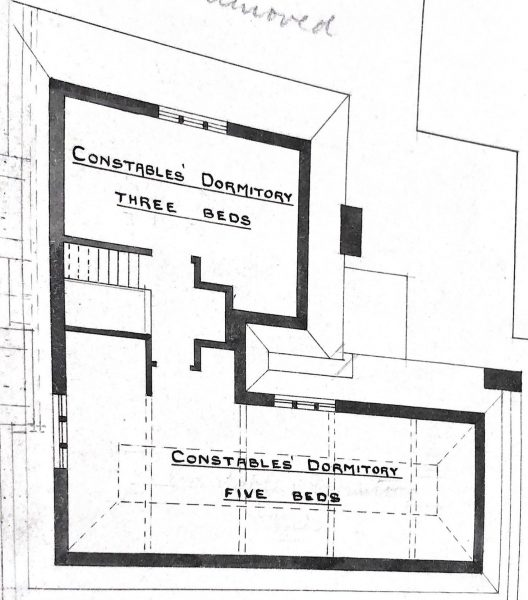 Third floor including constables dormitories (Gloucestershire Police Archives URN 10012)