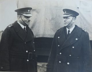 Chief Superintendent Goulder with another senior officer thought to be Chief Superintendent Price. (Gloucestershire Police Archives 10054)