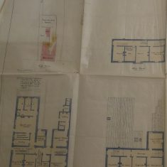 Full plan of  Chipping Sodbury Police Station(Gloucestershire Police Archives URN 10287-2)