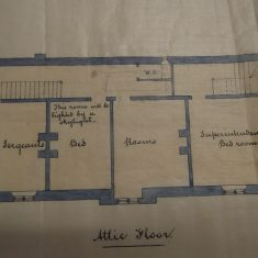 Attic floor of  Chipping Sodbury Police Station.(Gloucestershire Police Archives URN 10287-4
