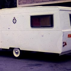 Police Caravan about 1973. (Gloucestershire Police Archives URN 10311)