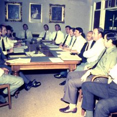 Crime Squad Conference. (Gloucestershire Police Archives URN 10342)